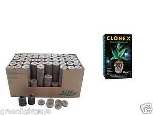 Coco-Jiffy-Blocchi-di-Propagazione-35-mm-x-30-amp-Clonex-50-ML