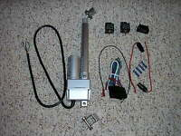 4 Power Linear Actuator Switch Harness & Bracket Trunk Hood Tonneau Street Rod