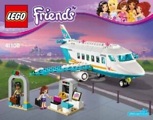 Lego Friends - Set 41100 - [ Le Jet Prive ] Adopter Une Technologie De Pointe