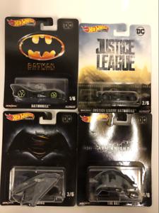 Hot Wheels DC Batman Set of 4 1 64 Scale DMC55