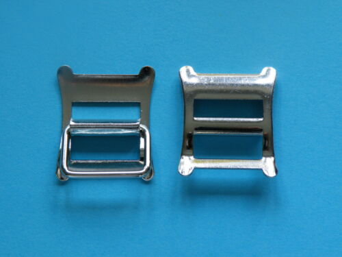 "20mm 3//4/"" Roko Buckle Nickel Nickle Handbag Horse Belt Strap Buckles Equestrian"