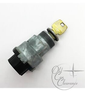 1968-1969-Lincoln-Continental-Ignition-Switch-with-Key-and-Tumbler-C8AZ11572A
