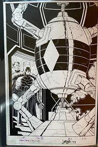 John-Romita-Jr-Batman-Dark-Days-The-Forge-1-Pg-16-Original-Art-Page-DC-Comics