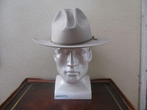 Vintage Western/Fedora 100 % Pure Beaver Fur Hat