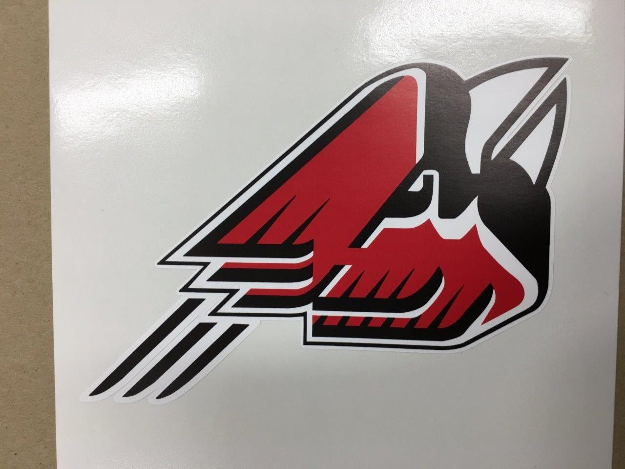 Ball State Cardinals cornhole board or vehicle decal(s)BS3
