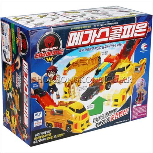 Turning Mecard W MEGA  SCORPION  Transforming Yellow Jumbo Robot Car Toy Gift