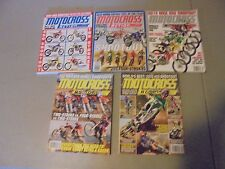 LOT OF 5 2013,14,15,MOTOCROSS ACTION MAGAZINE,ALL SHOOTOUT ISSUES,250/450S,HONDA