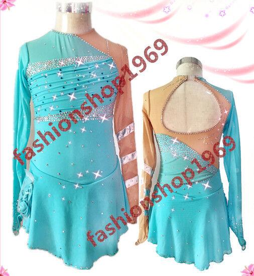 New Ice Figure Skating Dress Competition Baton Twirling  Dance Dress xx433-1