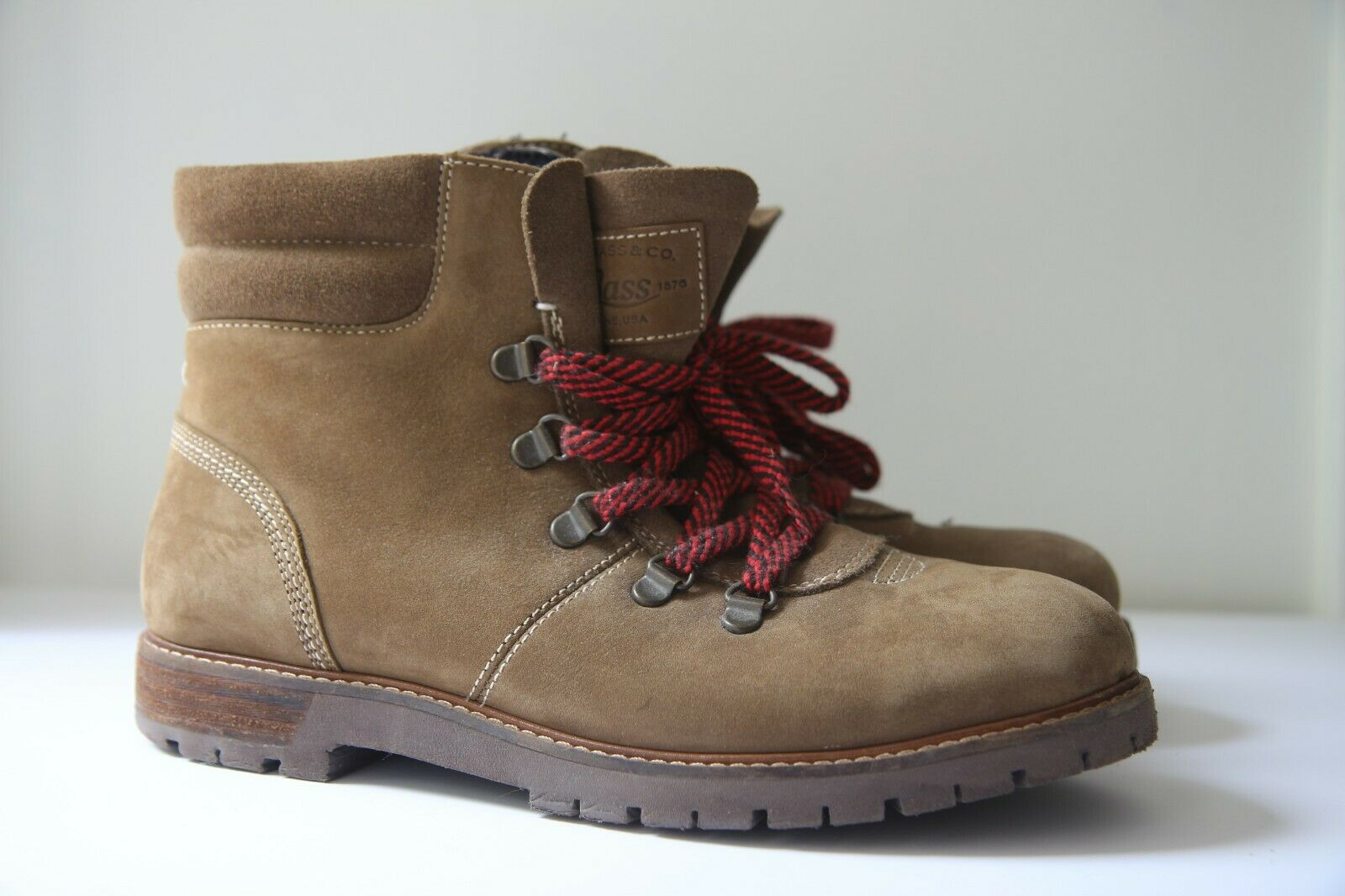G.H. Bass Nadine Hiker Boot Olive Tobacco Size 8.5 from Madewell