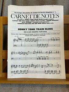 Carnet de notes pages détachables Claviers Magazine n°1 partition piano