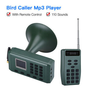 CP-380-Bird-Caller-Mp3-Player-Hunting-Speaker-Quail-Sounds-W-Rechargeble-Battery
