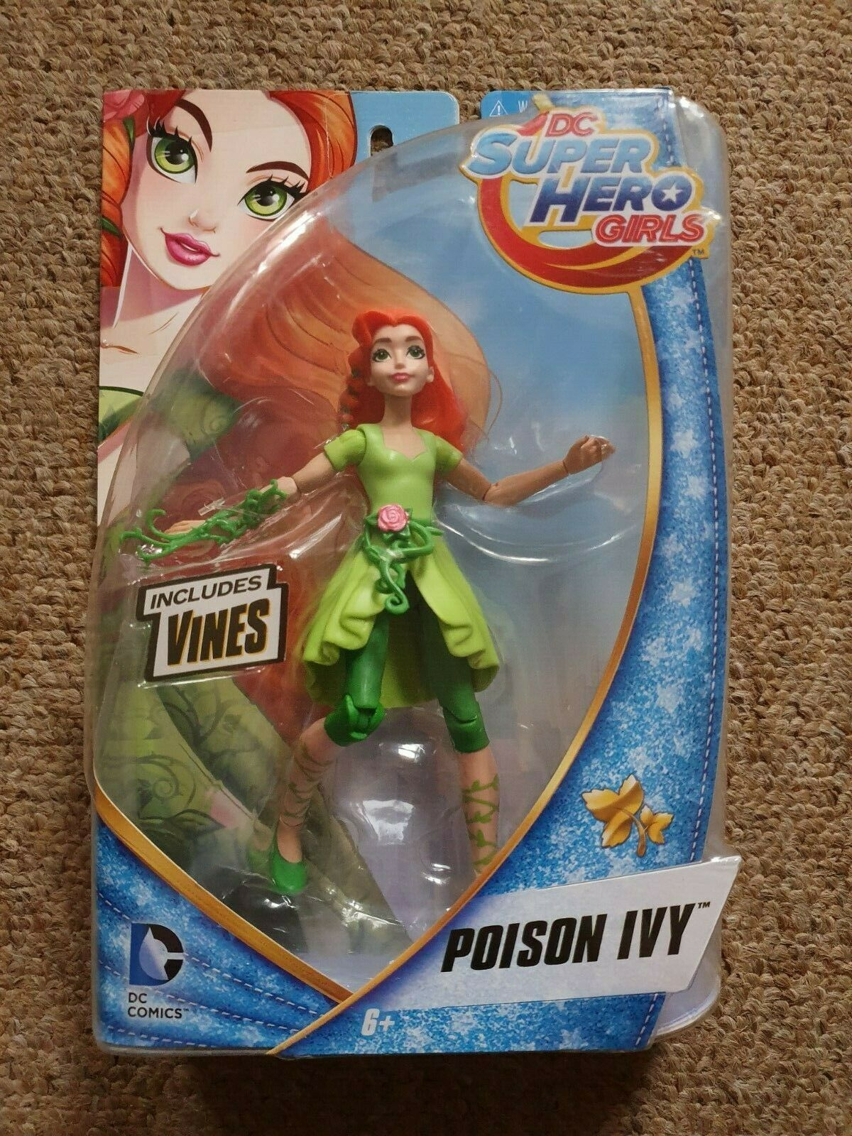 DC Super Hero Girls Poison Ivy 6 Inch Figure New In Box