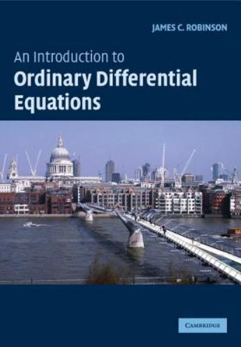 An Introduction to Ordinary Differential Equations (Cambridge Texts in Applied