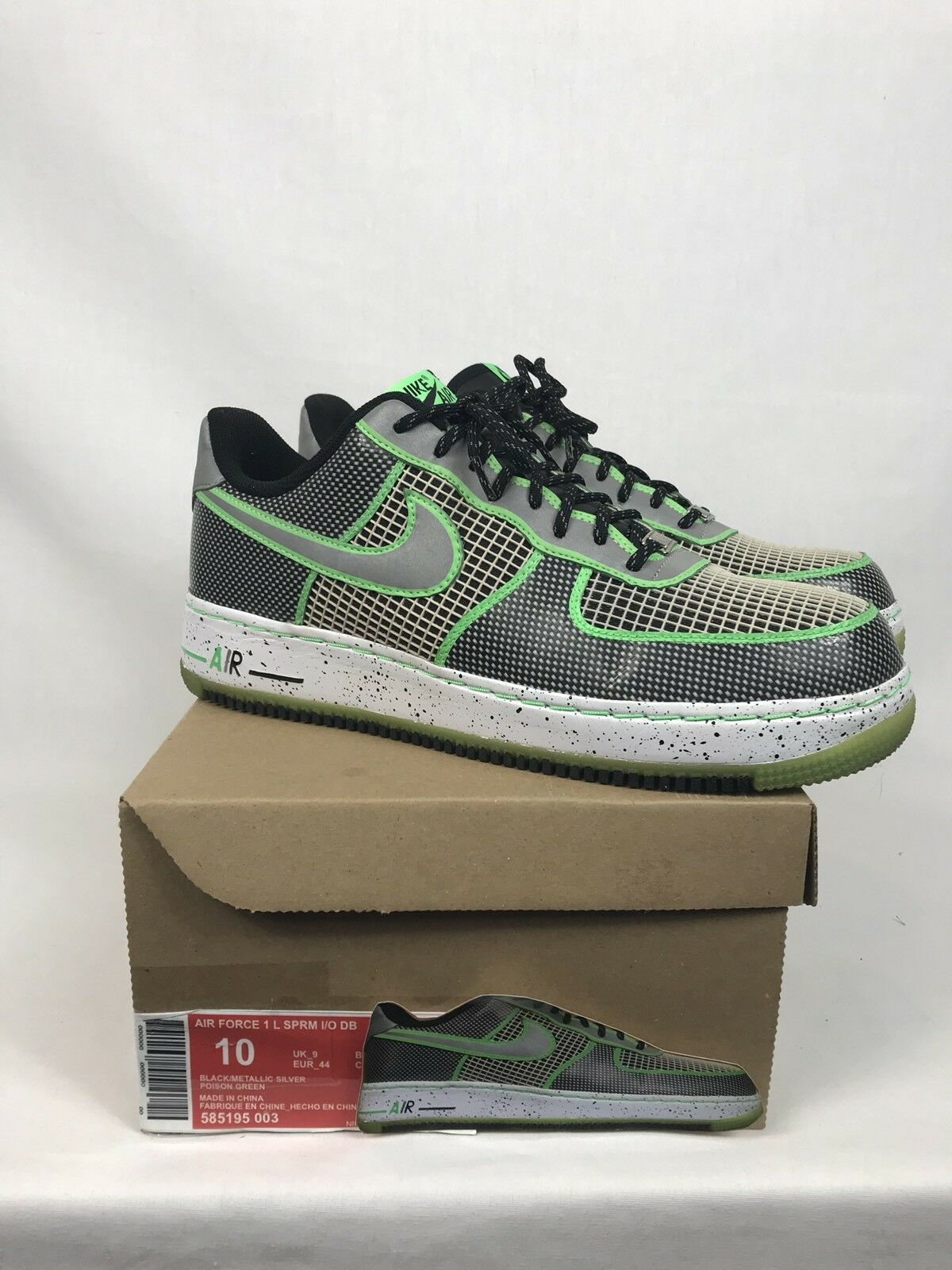 2012 Nike Air Force 1 Low SPRM DB Doernbecher Size 10 W/Rep Box 585195-003