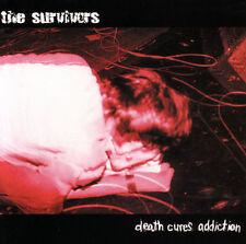 Death Cures Addiction * by Survivors (CD, Mar-2004, Hellbent Records)