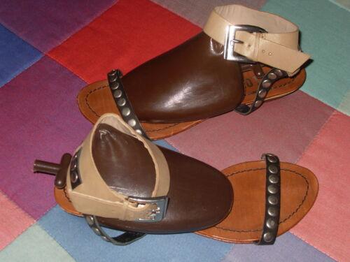 Leather 39 Leather Shoes romani Bibi Sandalo Sandali Lou Camel Tack vYCARqxwx
