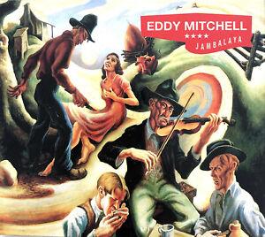 Eddy-Mitchell-CD-Jambalaya-Limited-Edition-Digisleeve-Europe-VG-EX