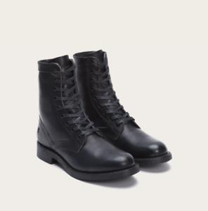 Ingeniero Frye Para hombre botas altas Encaje 87808 De Cuero Negro,, nuevo En Caja, Varios Tamaños