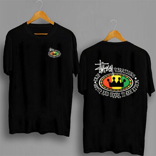 T-SHIRT STUSSY feelin Irie shirt  80s-90s surf skateboard rap hip hop shirt tee
