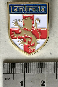 Lambretta England Lion Shield St Georges Cross Metal Lapel Pin Badge High Quality Metal Enamel Pin Badge