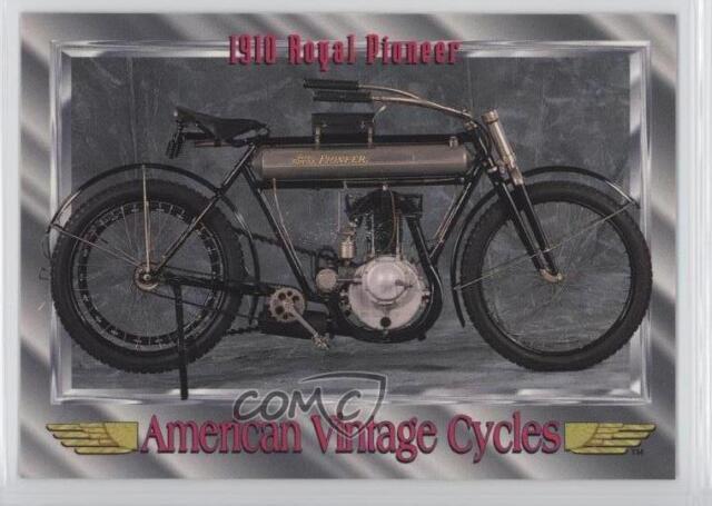 1910 Royal Pioneer American Vintage Motorcycle Card For Sale Online Ebay