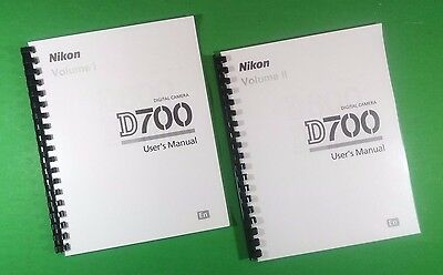 LASER 8 5X11 Nikon D700 Camera 472 Page Owners Manual Guide | eBay