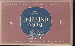 Magda-von-Fritsch-DUR-und-MOLL-Heft-1