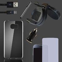 Silikon Handyhülle Schutz Hüllen Handy Tasche Schale + Auto Kfz Halterung Oberon