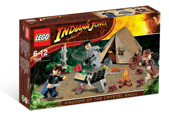 LEGO 7624 - INDIANA JONES - Jungle Duel - WITH BOX - 2008 - NEW
