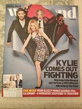 NEW Weekend Magazine Kylie Minogue Will.i.am Tom Jones Ricky Wilson THE VOICE