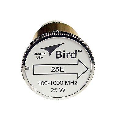 Bird 500E-400 Plugin Element 0 to 500 watts 400-800 MHz for Bird 43 Wattmeters