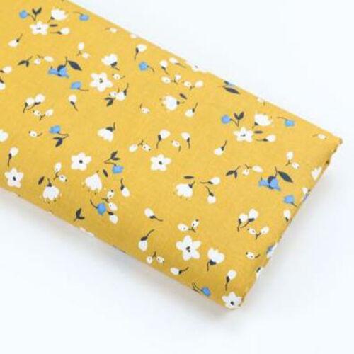 Una PC de tela de algodón precortadas tela de Algodón para Coser Floral A1