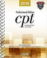 CPT 2016 Professional Edition by American Medical Association (Spiral bound)