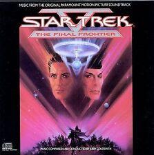 STAR TREK V: The Final Frontier (Original Soundtrack CD, 1989 Jerry Goldsmith)