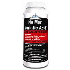 Swimming Pool No Mor Muriactic Acid Alkalinity pH- Minus Reducer 2.5lb
