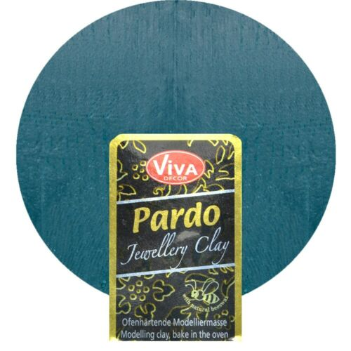 Ofen härtende Polymer Clay Knete Viva Pardo Jewellery Clay 56g Jade
