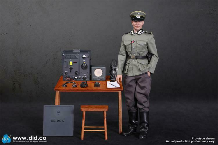 16 D80133 DID SECONDA GUERRA MONDIALE tedesco di comunicazione 3 Radio Operatore Gerd cifra in magazzino