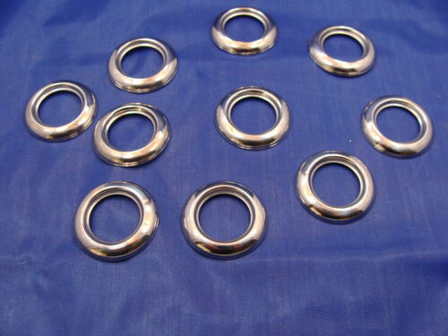 """10-3//4/"""" Stainless Steel LED Light Grommet Covers Fits Maxxima 3//4/"""" lights"""