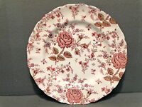 JOHNSON BROS ROSE CHINTZ IRONSTONE DINNER PLATE