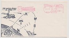US Space Event Cover 1973 25th Anniversary Transistor w Hand Painted Cachet ! |