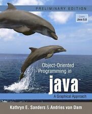 Object-Oriented Programming in Java: A Graphical Approach, Preliminary Edition,