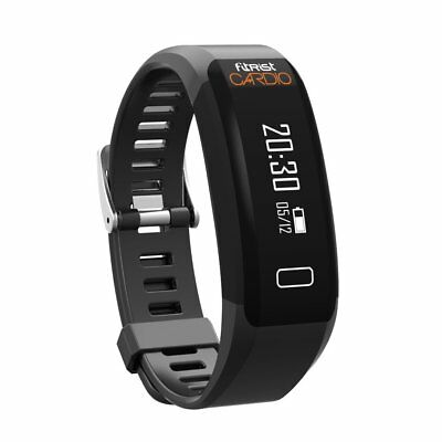 Intex Fitrist Cardio Fitness Tracker (Black) + 6 Months Manufacturer Warranty