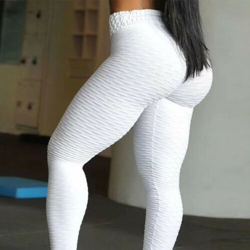 Damen Jogginghose Leggings Yoga Gym Hose Tights Fitness Mause Leggins Sporthose