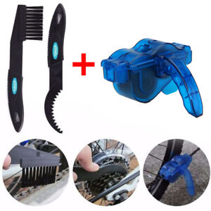 Cycling Bike  Chain Wheel Wash Cleaner Tool Cleaning Brushes Scrubber Set