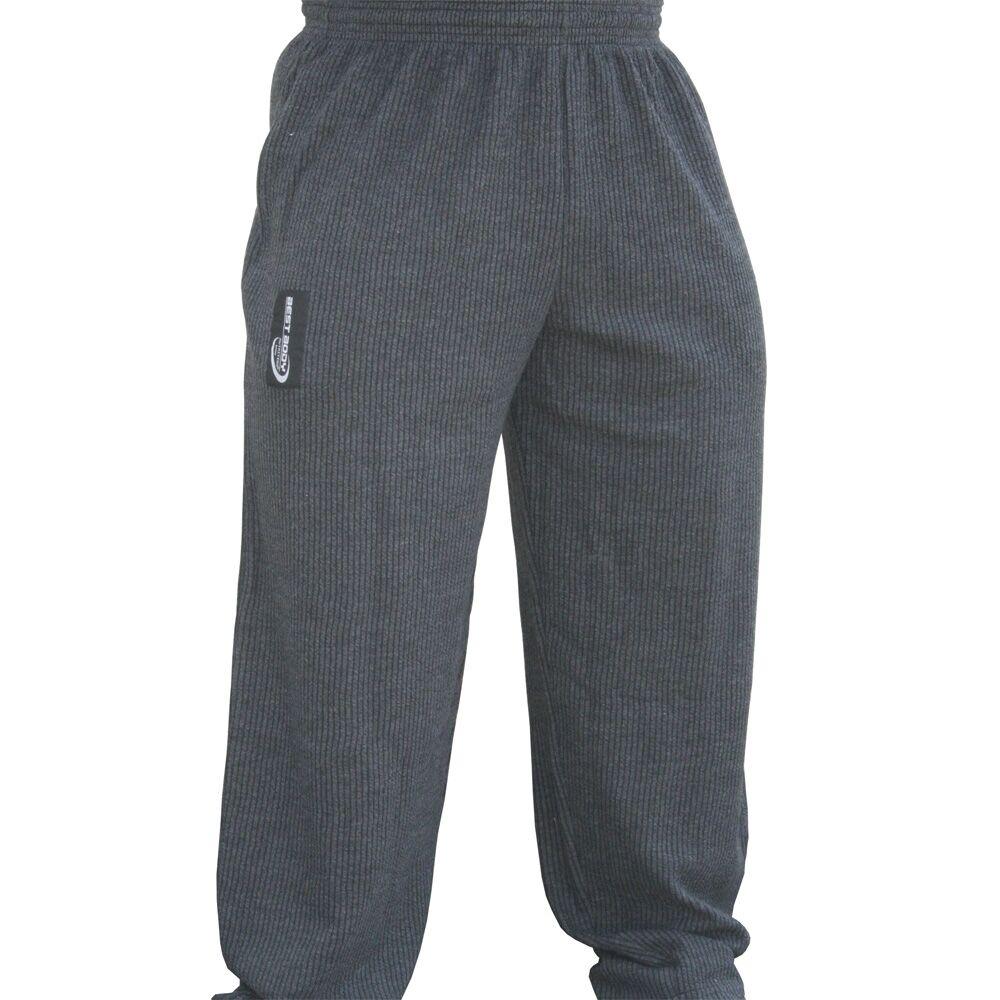 BBN Hardcore Power Pants Dark Grey Made of Soft Durable Rib Fabric