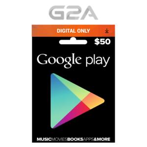 50 Usd Google Play Gift Card