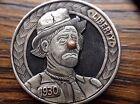 Original Engraved Hobo Nickel By Pedro Villarrubia