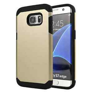 Armor-Case-for-Samsung-Galaxy-S7-EDGE-Shockproof-Heavy-Duty-Thin-Gold-Back-Cover