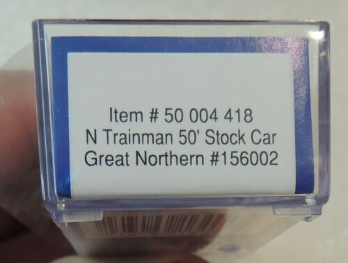 NEW ATLAS N SCALE GREAT NORTHERN 50/' STOCK CAR