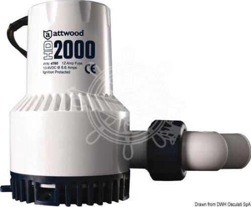 Attwood Heavy Duty Pump 24v 5amp
